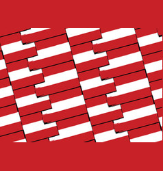 Grunge austria flag or banner vector