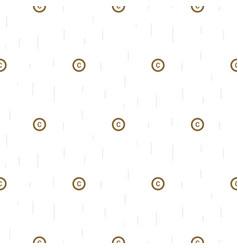 copyright symbol thin abstract seamless pattern vector image vector image