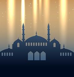 Eid design vector