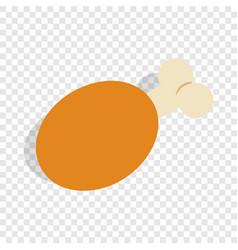 Ham isometric icon vector