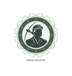 Mining Industry Design Element vector image