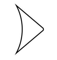 next arrow icon vector image