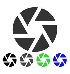 Shutter flat icon vector