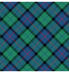 Flower of scotland tartan seamless diagonal vector
