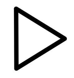 Next play icon vector