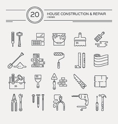 Repair Icons vector image