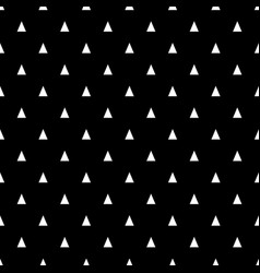 seamless pattern with small white triangles on a vector image vector image