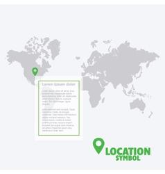 42 6 2016 location vector image