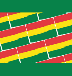 Abstract bolivian flag or banner vector