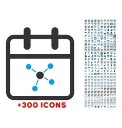 Scheme day icon vector