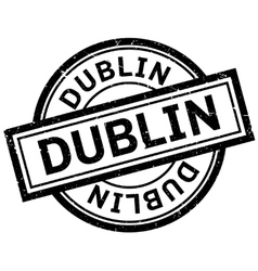 Dublin rubber stamp vector