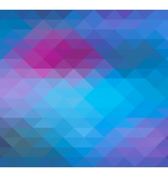 Geometric triangle neon background pattern vector