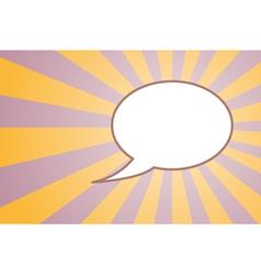 talking vector image vector image
