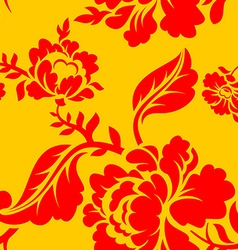 vintage floral seamless pattern element seamless vector image