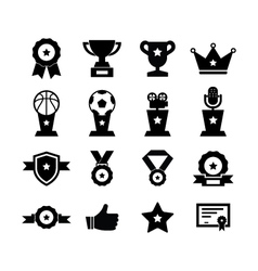 Awards Icon vector image vector image