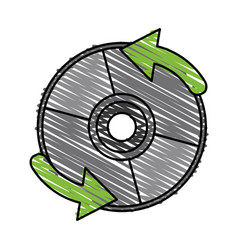 Cd player accessory vector