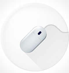 icon for blog Computer mouse vector image vector image