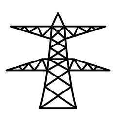 Power pole vector