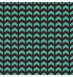 Tile pattern with blue or mint green zig zag print vector