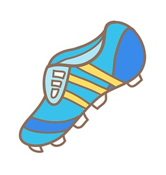 A football boot vector
