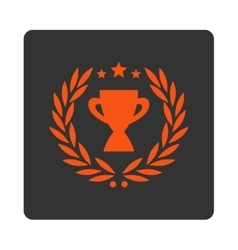 Glory icon from award buttons overcolor set vector