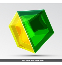 Glassy object vector