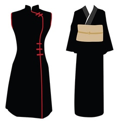 Traditional dress vector