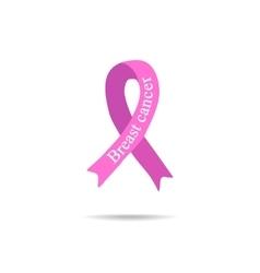 Cancer Ribbon Breast cancer Pink ribbon vector image