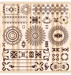 pattern in arabic style vector image vector image