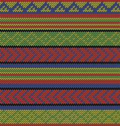Rasta aztec pattern vector