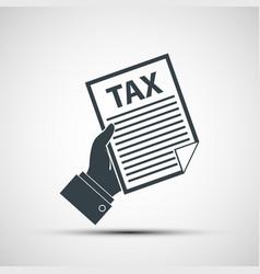 Tax declaration vector