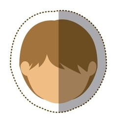 Isolated kid design vector