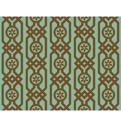 seamless pattern in retro style vector image