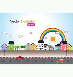 Town vector