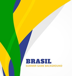 Brazil summer games vector
