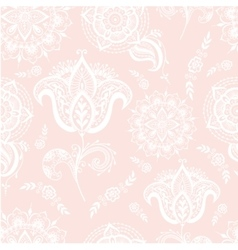 Mehendy pattern vector