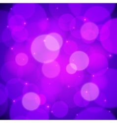Purple bokeh effect abstract background vector