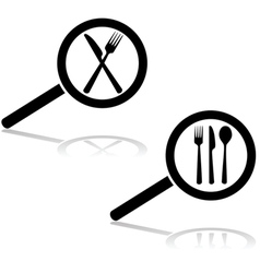 Restaurant search vector