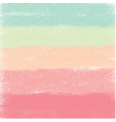 watercolor palette vector image vector image