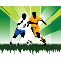 soccer forever vector image