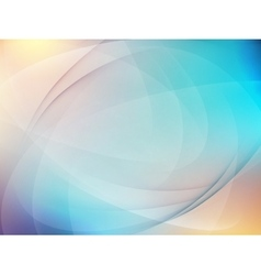 Abstract blue background EPS 10 vector image vector image