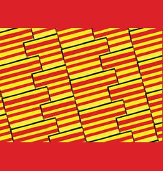 Grunge catalonia flag or banner vector