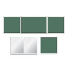 School boards set vector