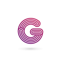 Letter g logo icon design template elements vector