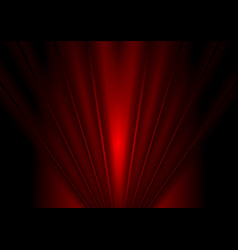 Dark red glow beams abstract background vector