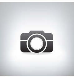 stylized photo camera vector image