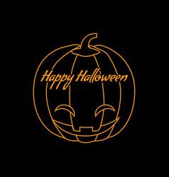 Happy halloween logo icon design vector