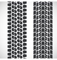 Tread pattern tyre vector image