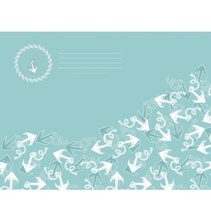 Template for greeting cards flyers or business vector