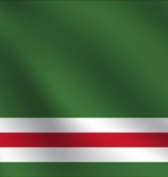 Chechen republic of ichkeria flag vector